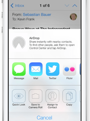 Apple 2013 WWDC Keynote Summary (iOS 7 Features with Photos)
