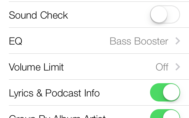 How to set EQ and Volume Limit for music on iPhone, iPad (Mini), and iPod Touch