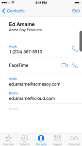 15. Contact