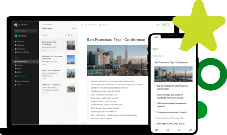 Evernote organizational tool for tech savvy Entrepreneurs