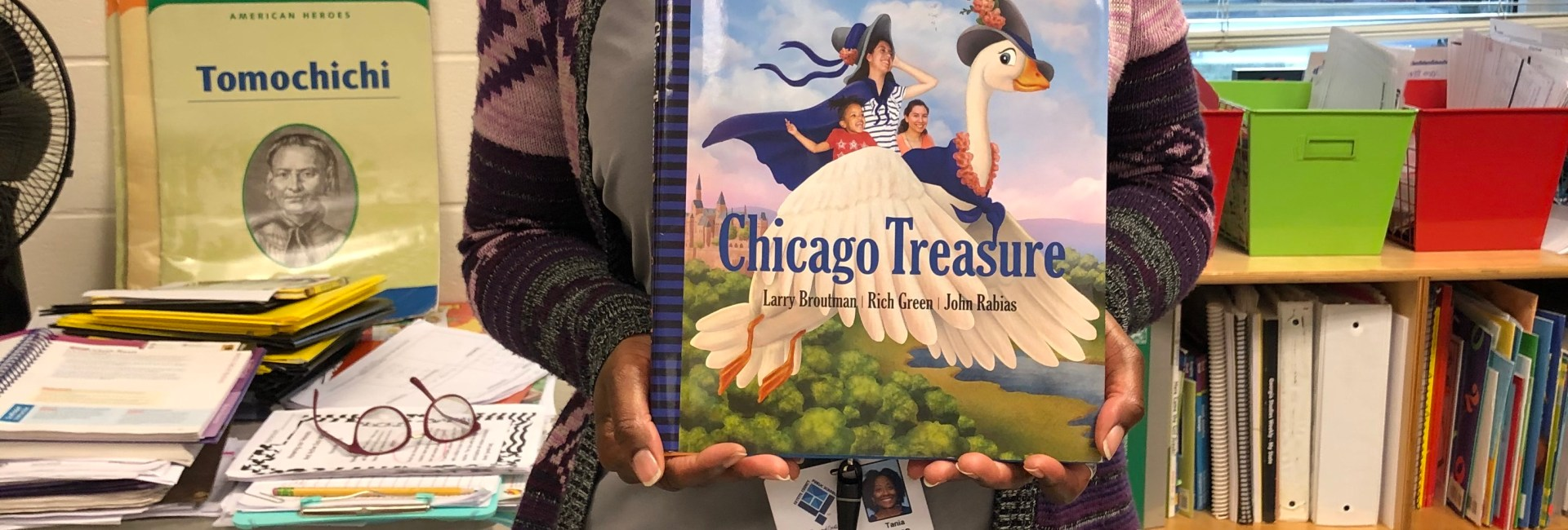 Children's Book Review: Chicago Treasure is Pure Treasure