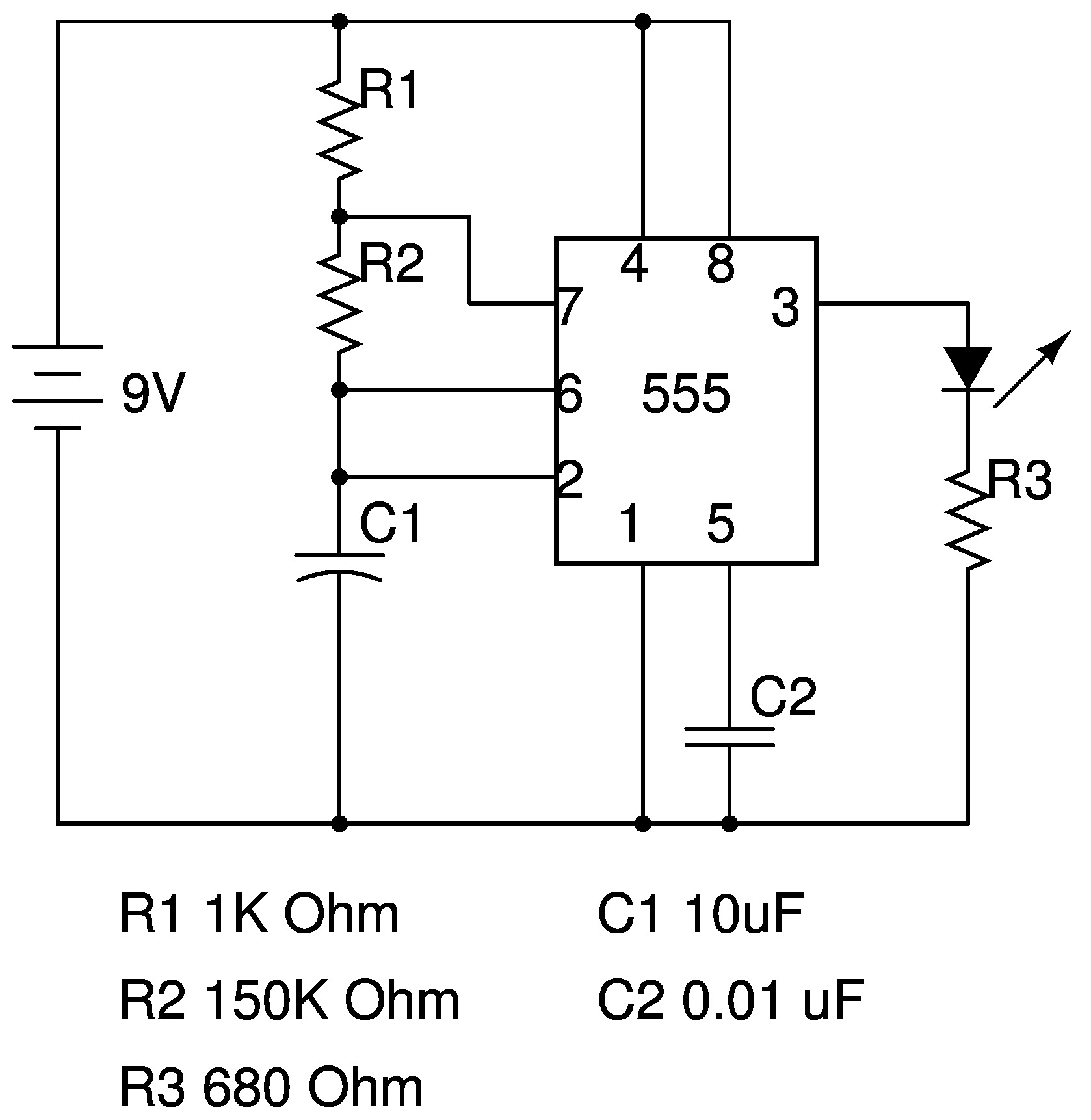 Using A One Shot Relay Schematic