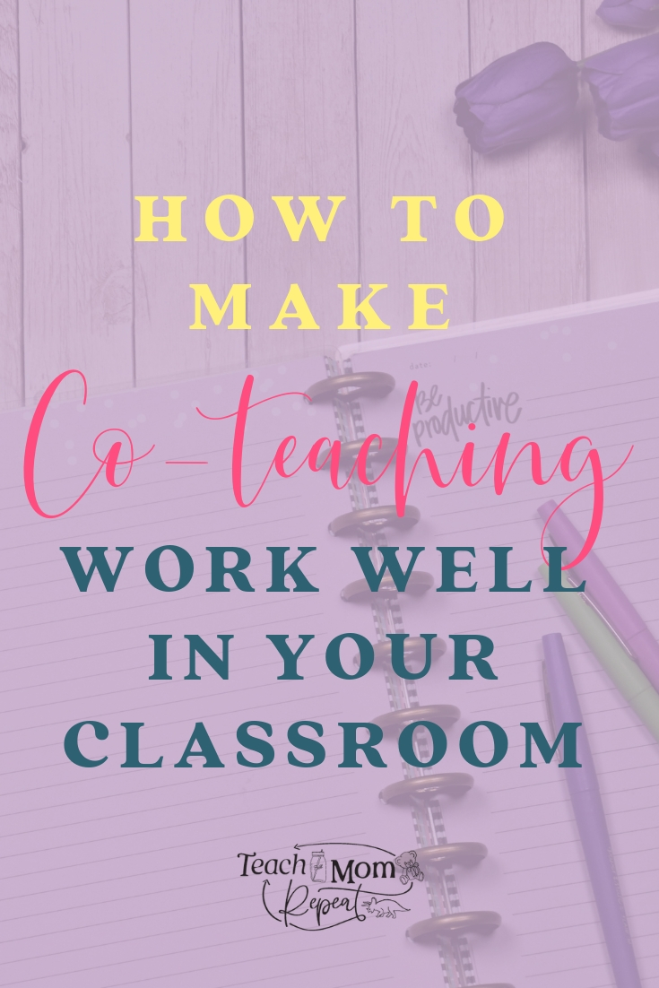 Co-teaching with an intervention specialist has been one of my most positive experiences as a teacher. But co-teaching isn't always easy. It can be difficult to share a classroom. Use these strategies to help communicate with a co-teacher and make the best of your time together.