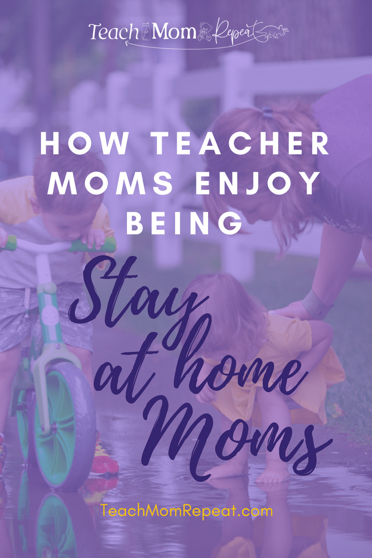 Teachers have the chance to be stay at home moms for a few months each year. Find out how your teaching skills can help make summer both productive and enjoyable.
