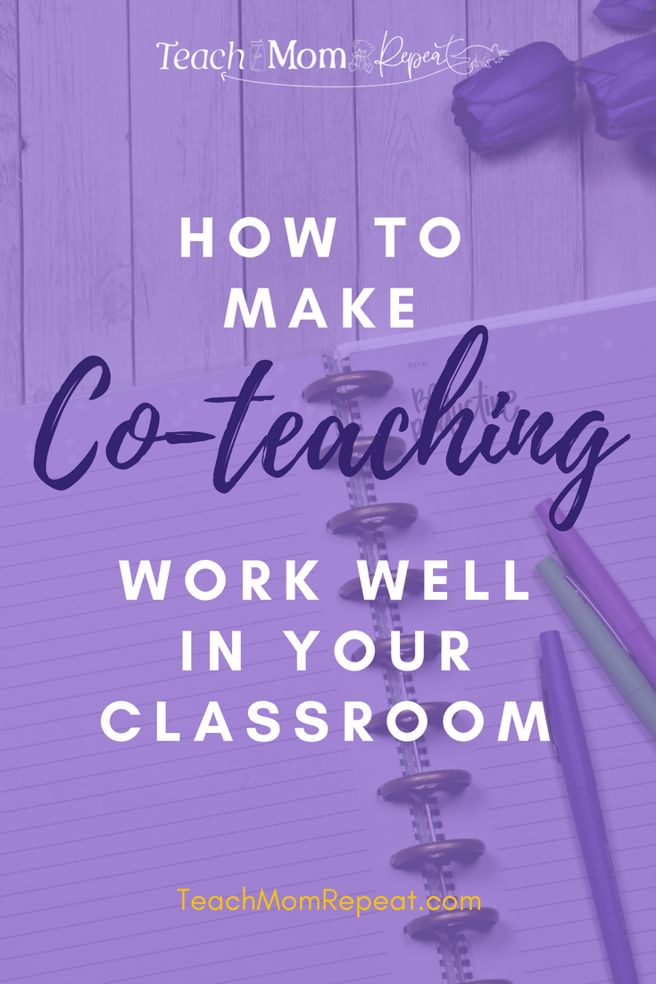 How to make co-teaching work well in your classroom.