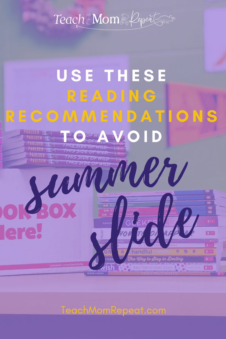 Find middle and high school titles to suggest for summer reading