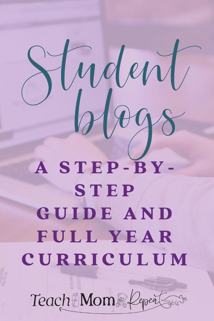 Blogging with students makes for a total package writing curriculum. Students who blog are learning how to write with an authentic voice. This guide will walk you through the process and give you ideas to start blogging with students tomorrow. Lesson plans for the full year are available.