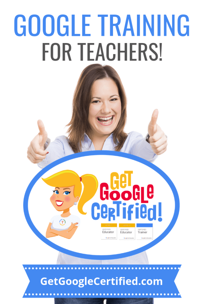 Google certification will help teachers save time while lesson planning, make grading easier, and transform the learning happening. Your classroom needs you to be the best teacher you can be and adding the knowledge that comes with Google certification is guaranteed to make you a better teacher.
