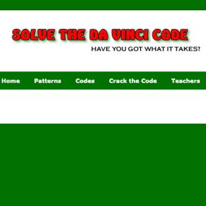 Solve the Da Vinci Code