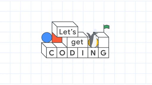 Lets Get Coding! graphic