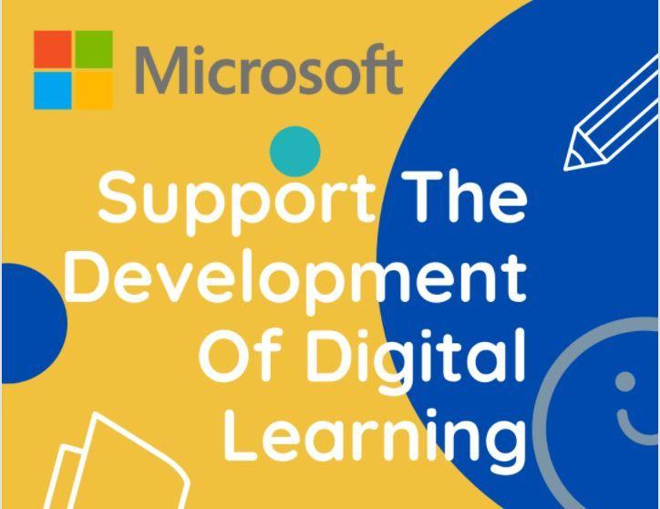 Microsoft Education Webinar banner