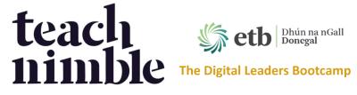 Donegal ETB - Digital Leaders Bootcamp banner