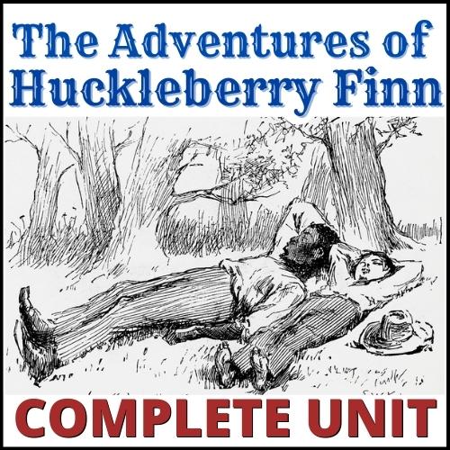 Huck Finn Unit COVER final
