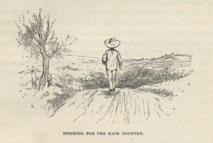 Huck Finn leaves society