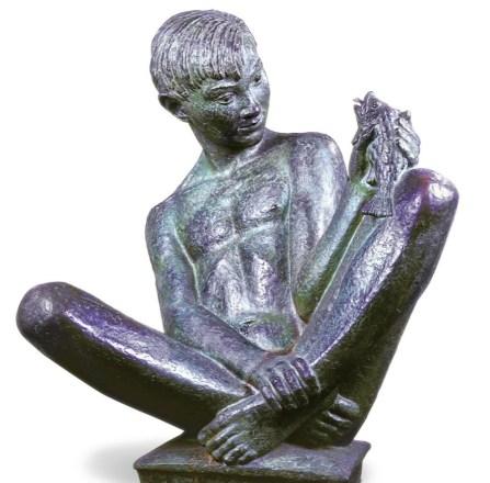 Huckleberry finn pre-reading activity sculpture
