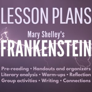 FRANKENSTEIN lesson plans cover 2