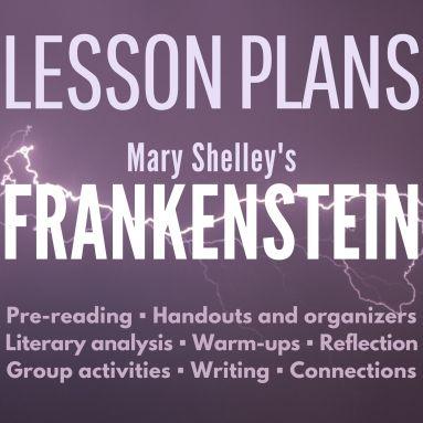 FRANKENSTEIN lesson plans cover 2