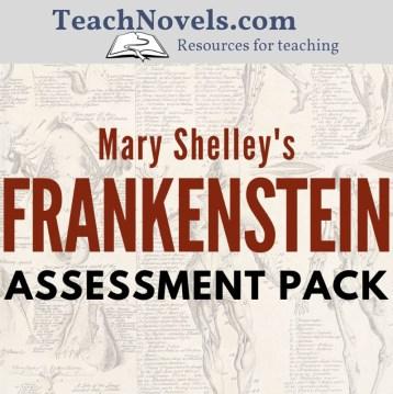 Frankenstein Assessment pack cover - Edited