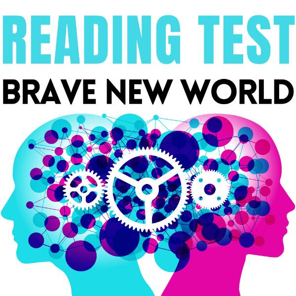 Brave New World Reading Test cover