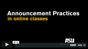 Announcement Practices