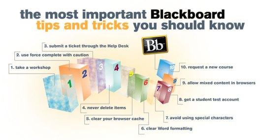Blackboard Tips and Tricks