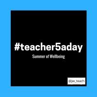 An update on my #teacher5aday pledges.