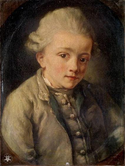 Mozart by Greuze