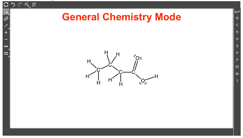 gen chem mode
