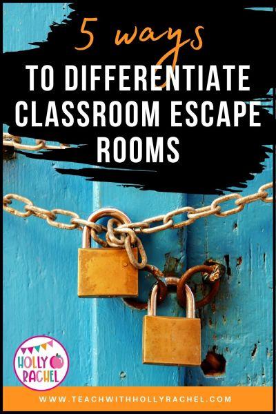 classroom escape rooms