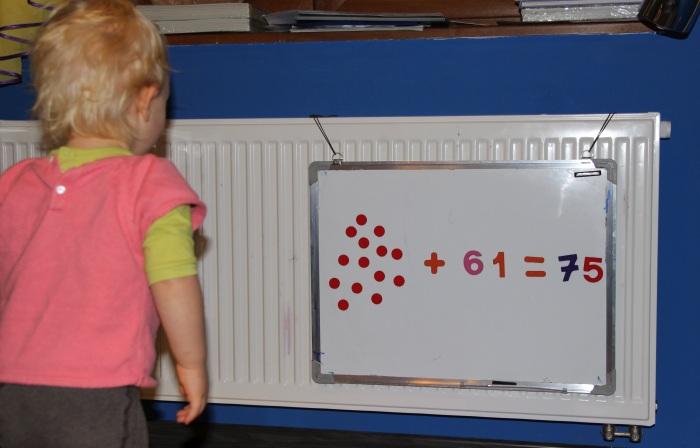 Wczesne nauczanie matematyki metodą Domana