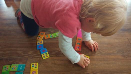 Nauka liczenia domino