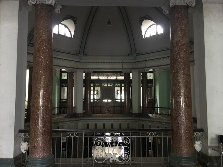 Interior of the Building from the first floor