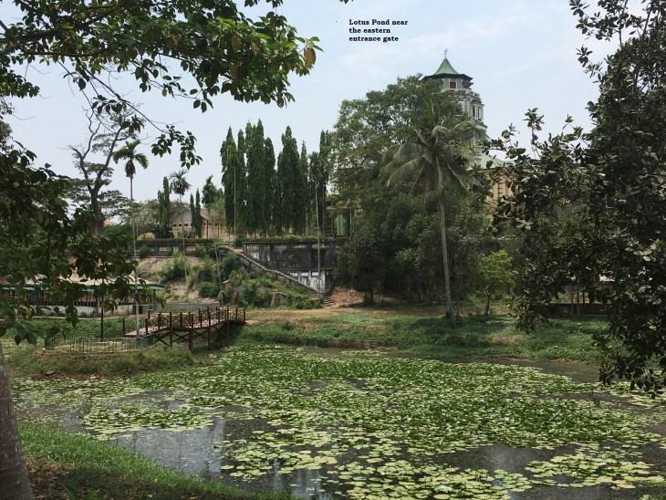 Lotus Pond near the Eastern Entrance Gate