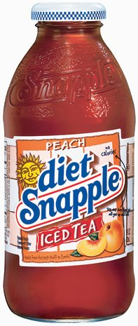 Diet Snapple Ice Tea – Peach 16 Oz All Natural Flavor Real Brewed (Pack of 6)