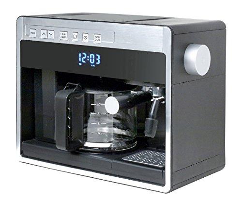 Espressione 26161 New 3-in-1 Combination Coffee Beverage System, Black Silver