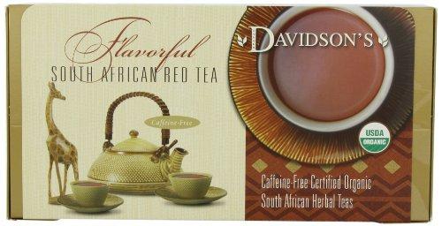 Davidson's Tea Single Serve Red Vanilla, 100-Count Tea Bags
