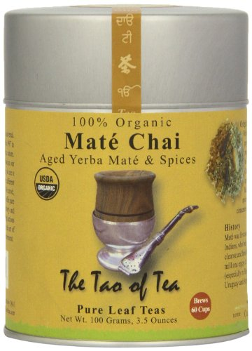 The Tao Of Tea Chai Mate Chai, 100% Organic, 3.5 Ounce Tin