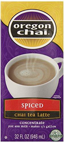 Oregon Chai Spiced Chai Tea Latte Concentrate, 32 Ounce
