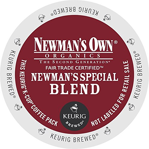 Newman's Own Special Blend Coffee, Medium Roast Coffee Extra Bold, K-Cup Portion Pack for Keurig K-Cup Brewers (Pack of 80, net wt. 32.1 oz.)