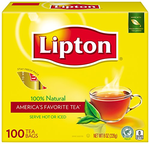 Lipton  Tea, 100% Natural 100 ct