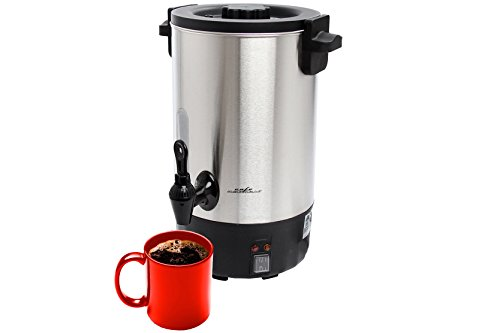Cafe Amoroso 75-Cup Stainless Steel Double Walled Commercial Coffee Maker Urn