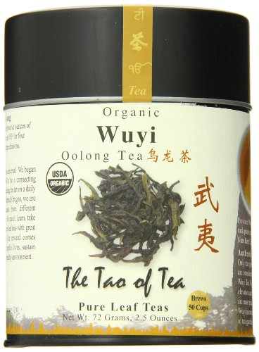 The Tao of Tea, Wuyi Oolong Tea, Loose Leaf, 2.5 Ounce Tin