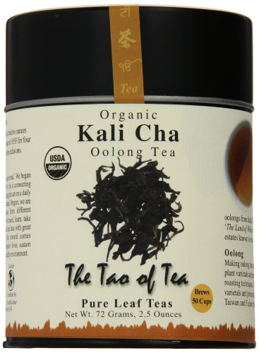 The Tao of Tea, Kali Cha Oolong Tea, Loose Leaf, 2.5 Ounce Tin
