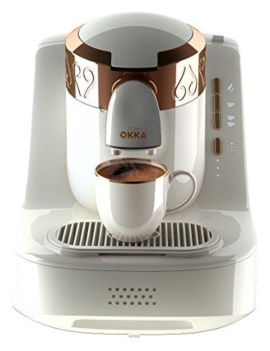 Arzum Okka Ok001 Automatic Turkish / Greek Coffee Machine, 220 – 240 V, Eu Plug White