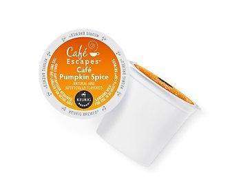 Keurig Café Escapes Café Pumpkin Spice Latte K-Cups 16 ct