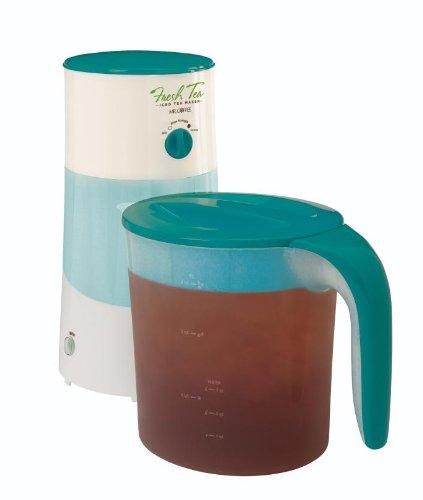 Mr. Coffee TM70TS Fresh Iced Tea Maker, 3-Quart, Teal Splash