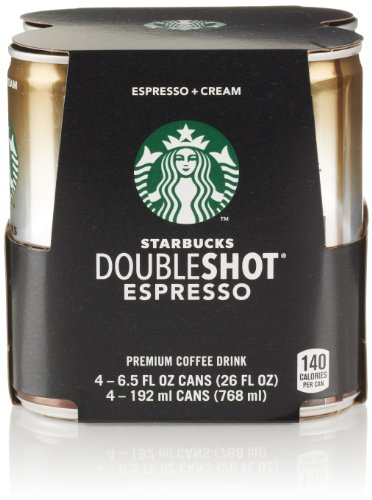 Starbucks Double Shot (4 Count, 6.5 Fl Oz Each)