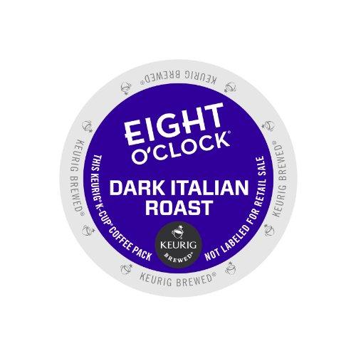 Eight O'Clock Coffee Dark Italian Roast, Keurig K-Cups, 72 K-Cup Packs