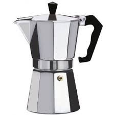 12 Cup Italian Style Expresso Coffee Maker for Use on Gas Electric and Ceramic Cooktops