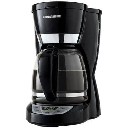 Black + Decker 12-Cup Programmable Coffee Maker – 2 Hourr Shut Off